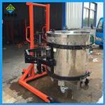 工厂区油桶的搬运与称重设备,手动式电子油桶秤