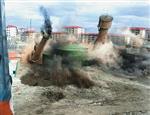 烟囱定向爆破拆除的几种方案的选择?
