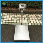 不锈钢304材质台秤,50kg不锈钢电子秤