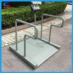 医院电子轮椅秤 300kg血透电子秤 轮椅秤厂价直销