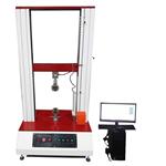 桌上型数字式拉力试验机 东莞厂家电子式单柱拉压试验机 液晶屏中文显示单柱拉压试验设备