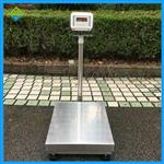 60公斤不锈钢电子称,带防护罩的台称