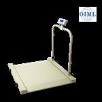 EY-YFH扶手一体化轮椅秤/带扶手轮椅秤/300kg带手扶栏轮椅称/医用轮椅秤