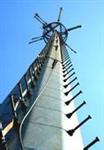 信号单管塔设计制作安装公司批发零售通讯单管塔