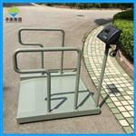 透析体重平台秤,手扶轮椅秤带斜坡