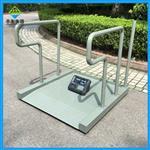 血透析平台秤带打印,300kg手扶轮椅透析秤