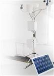 农业稻田太阳能板供电气象检测仪,气象站预警在线监测系统