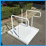 医院称轮椅用实润牌透析电子秤 轮椅秤厂家