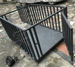1.5m*1.5m围栏秤,黑龙江2吨牲畜秤,猪笼秤厂家