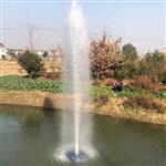 树冰型水柱式喷泉曝气机