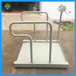碳钢轮椅透析称,200公斤手扶轮椅称