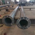 益明出售110KV直线钢管杆 高压线路钢管杆价格