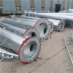 供应武汉220KV单回路钢管杆 热镀锌电力钢管杆厂家