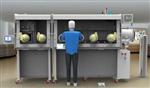 护目镜熔融金属和炽热固体防护性能试验机 护目镜检测设备厂家