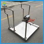 不锈钢体重秤,人体透析轮椅平台秤
