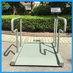 便于轮椅称重的电子秤