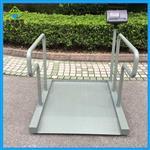医用轮椅电子秤,0.8*0.8m手推轮椅秤