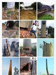 烟囱拆除-废弃烟囱拆除的几种方法?