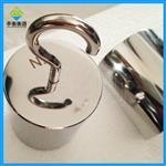M1等级带钩砝码价格,15N不锈钢单钩砝码