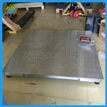 不锈钢防腐电子地磅,1.2*1.5米地磅秤安装价格