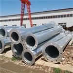 直线钢杆出厂价格 热浸锌防腐终端钢杆