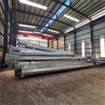 直线电力钢杆重量 热浸锌防腐钢管杆价格