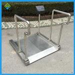300公斤不锈钢轮椅秤