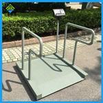 用来称轮椅的体重秤,扶手透析平台秤