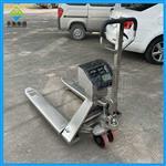 上海叉车秤生产厂家,304材质全不锈钢叉车称