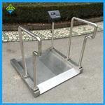 医院透析用电子秤,不锈钢轮椅透析秤