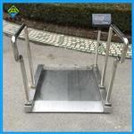 轮椅秤304材质不锈钢,用来做体重透析的电子秤