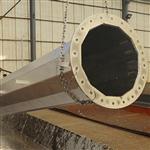 成都电线杆厂 量大优惠钢制电力钢杆