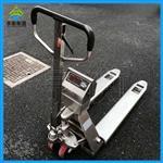 1t不锈钢称重叉车,化工厂用的叉车秤