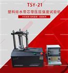 专业产品塑料排水带芯带压屈强度试验仪