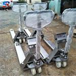 304不锈钢材质液压叉车秤 实润电子叉车秤