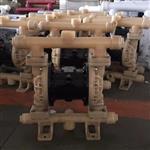 氟塑料气动隔膜泵,耐酸碱气动隔膜泵
