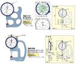 SM-130日本得乐TECLOCK测厚仪