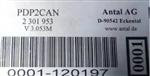 Antal通信模块PDP2CAN/M V3.053