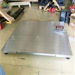 比质量:3t不锈钢地磅,防水防腐电子地磅