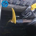 QJB5/4-1800/2-63P厌氧池低速推流搅拌机