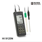 HI9125防水型便�y式pH/ORP/�囟�y定�x