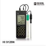 HI9126D防水型便�y式pH/ORP/�囟�y定�x