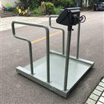 用来称轮椅的体重秤,医疗透析平台秤