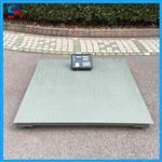 1-3吨带打印功能地磅秤常用标准尺寸1.2m*1.5m