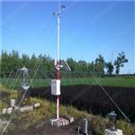 新疆农业小型气象站,100w太阳能供电自动气象站