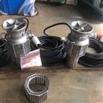 超轻型不锈钢反轴流潜污泵,400方便携式轴流泵