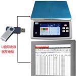 食品厂用分类储存产品信息记录称重数据的电子秤