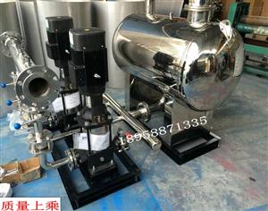供水设备 不锈钢变频供水设备 WBOC16/2-0.72,无负压供水设备