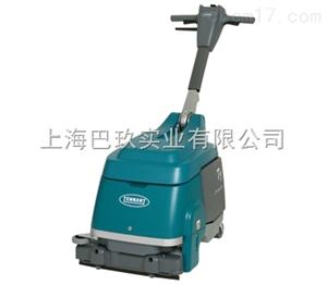 坦能洗地机T300美国坦能手推式洗地机_洗地机工作原理