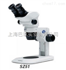 日本奥林巴斯SZ51小型体视显微镜内置防静电保护装置
